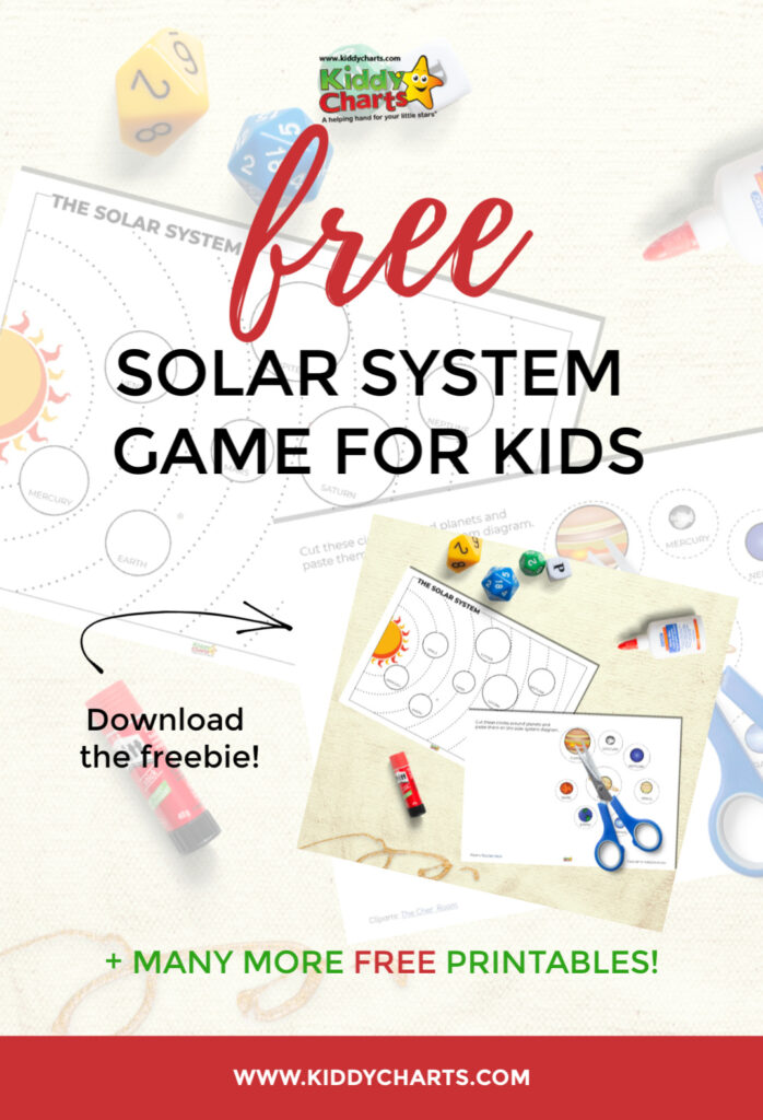 Free solar system game for kids