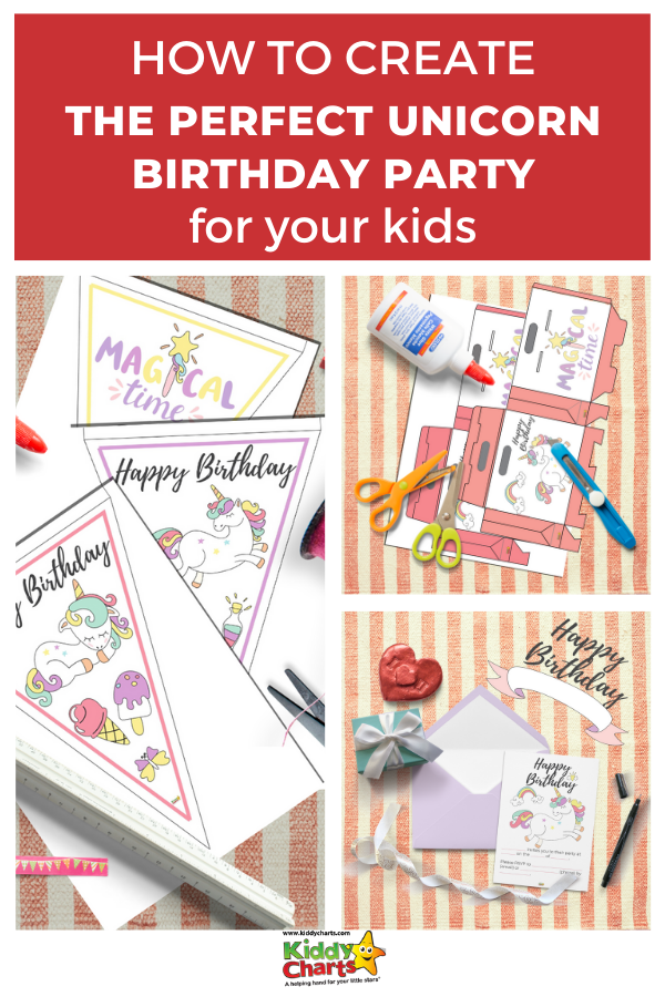 How to create the perfect Unicorn birthday party for your kids