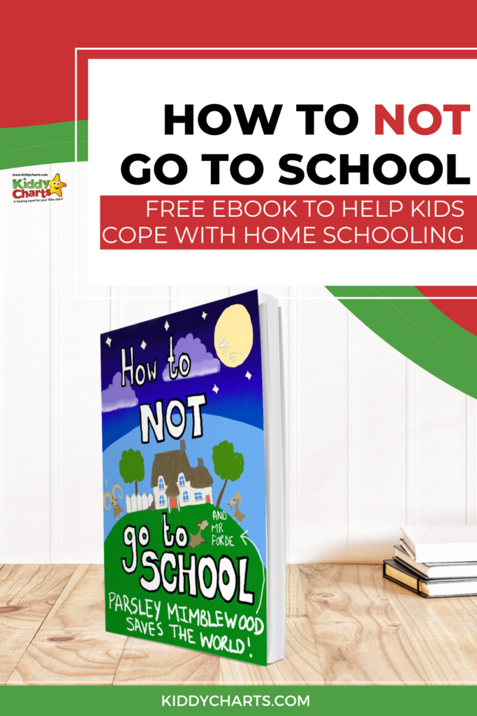 How to not go to school free eBook to help kids cope with homeschooling