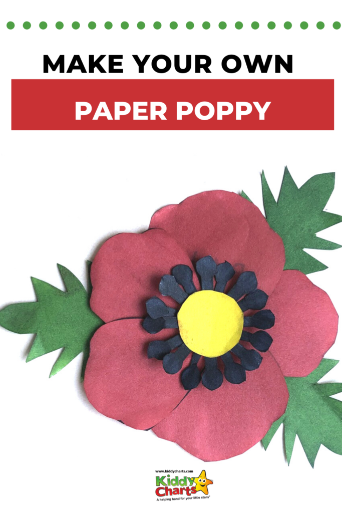 Make your own paper poppy