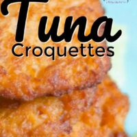20 Minute Simple Tuna Croquettes Recipe Your Family Will LOVE · Pint-sized Treasures