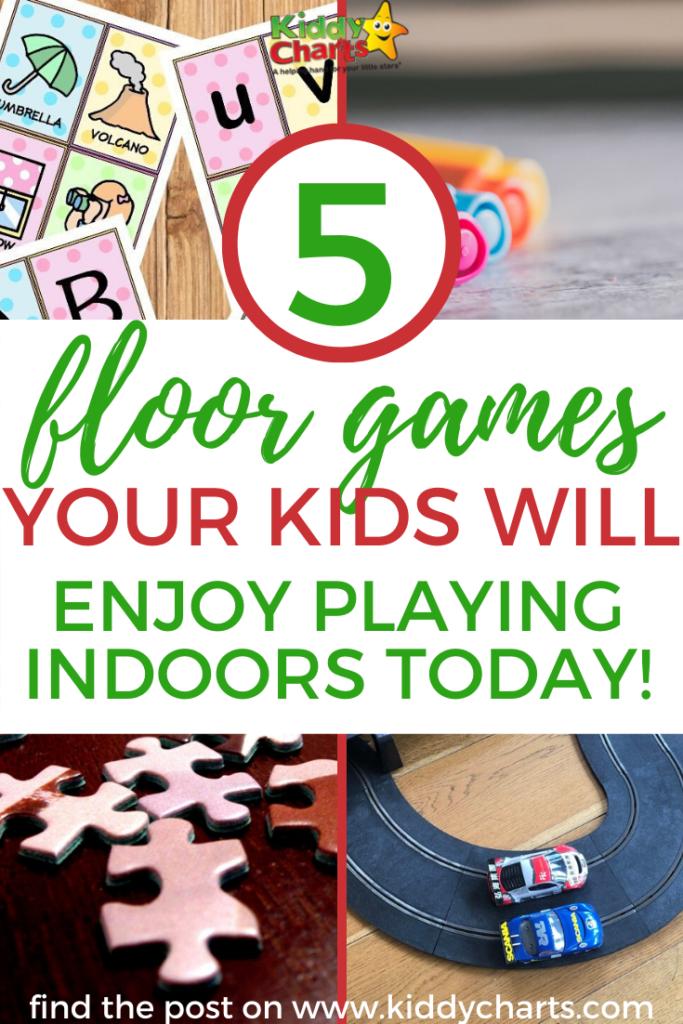5 floor games your kids will enjoy playing indoors - KiddyCharts