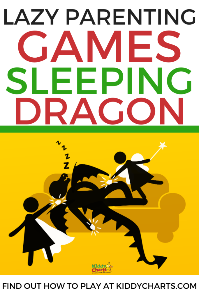 lazy parenting games sleeping dragon