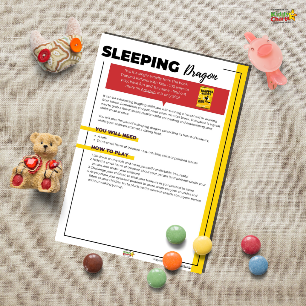 sleeping dragon game for lazy parents