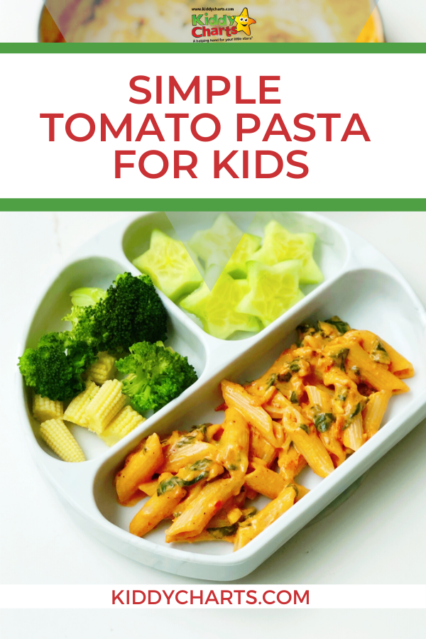 Authentic Indian Family Food: Simple tomato pasta for kids