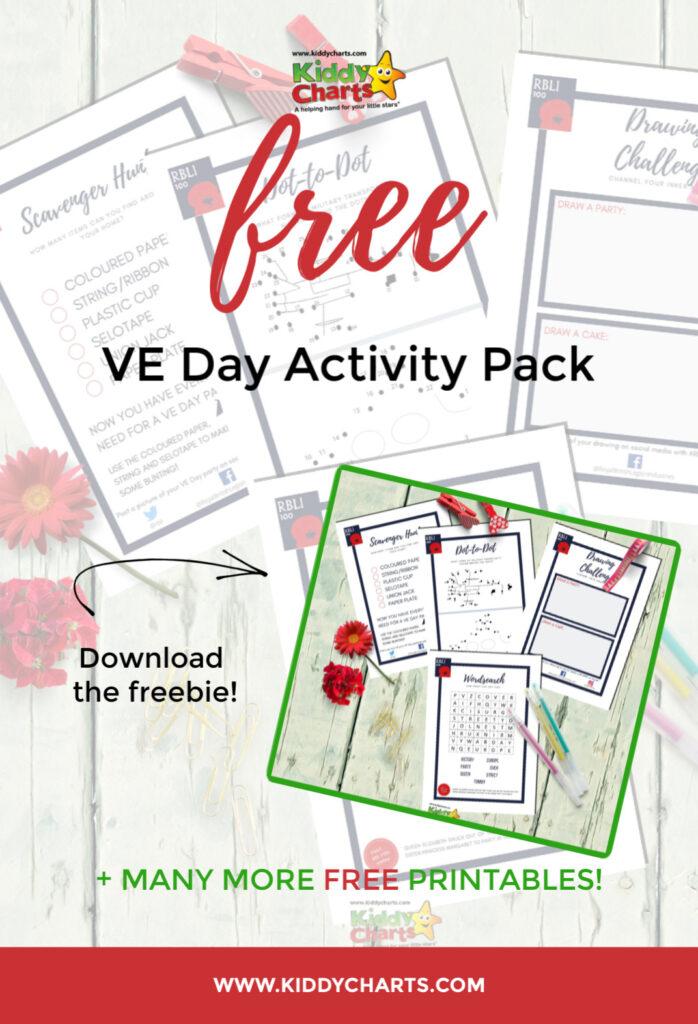 VE day kids activities