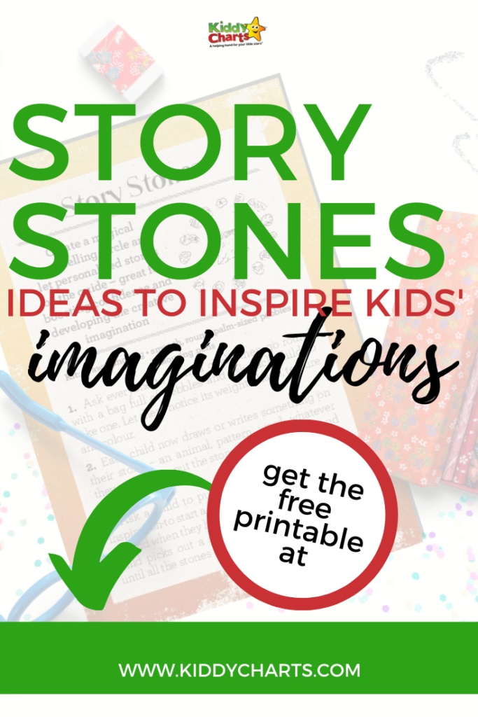 Story stones ideas to inspire kids' imaginations