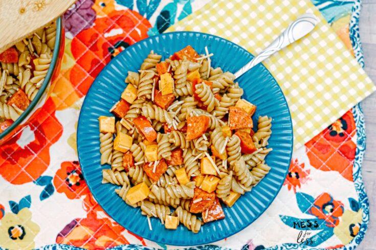 Best Ever Balsamic Pasta Salad Recipe