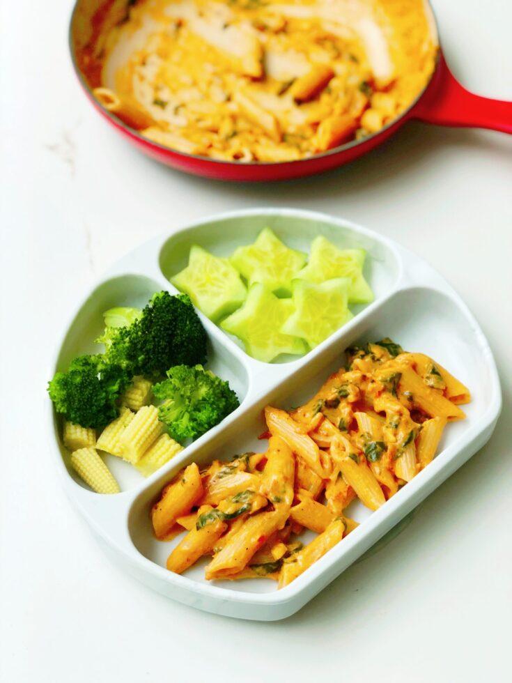 Simple Tomato Pasta for Kids