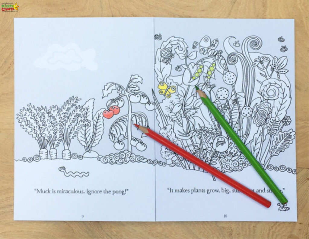 Muck is Yuck colouring book