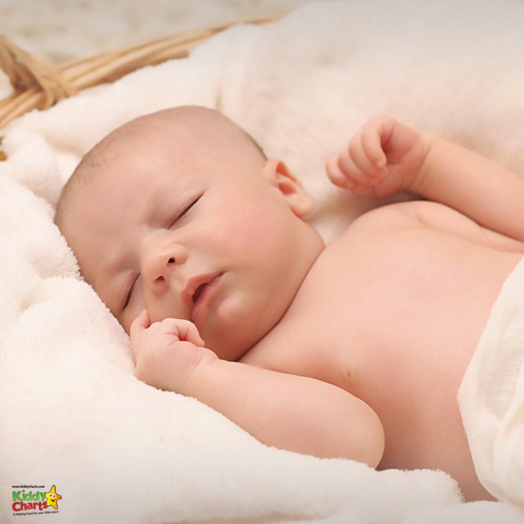 baby sleeping nap time