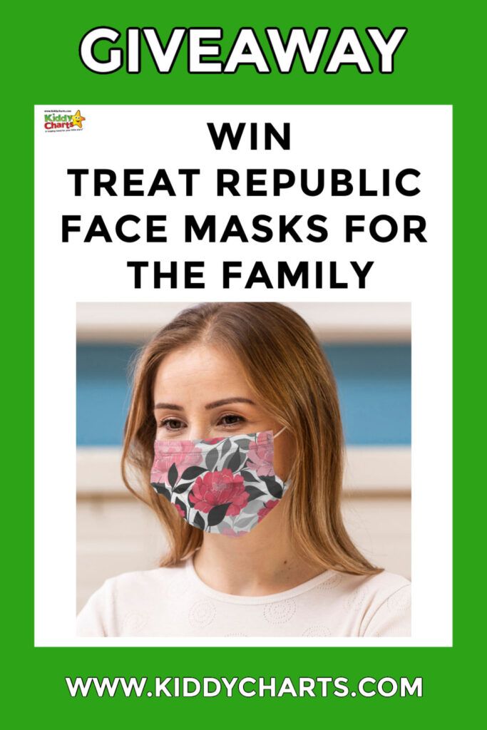 Win Treat Republic face masks for the