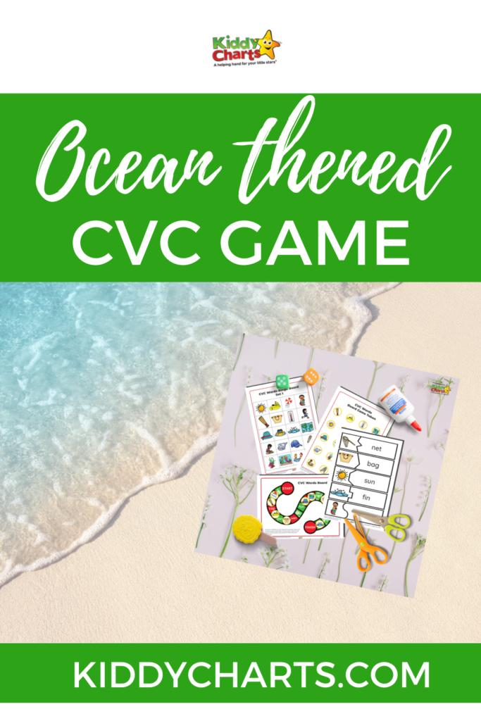 CVC games with an ocean theme
