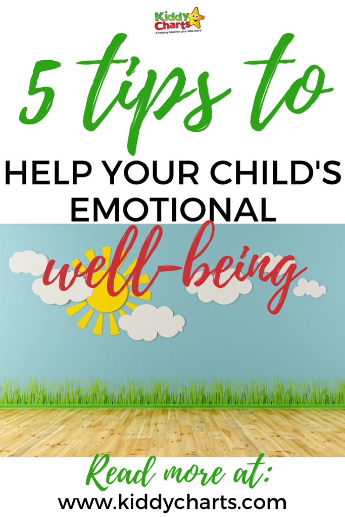 5 tips for boosting your child's emotional well-being