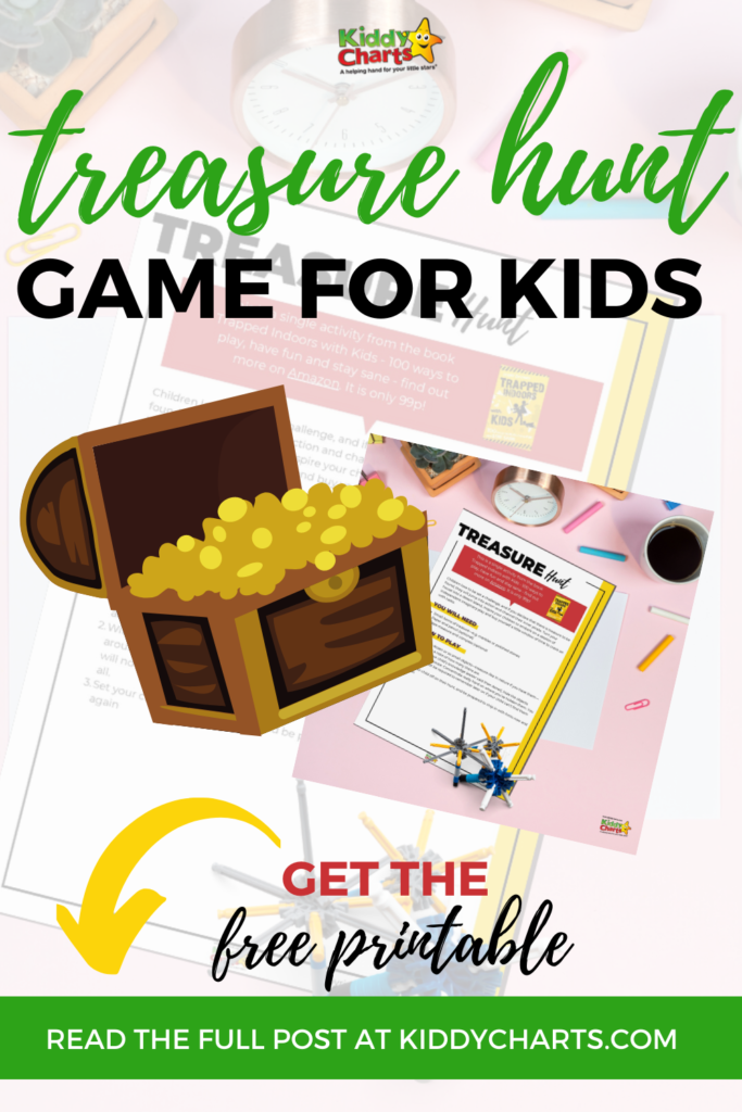 Treasure hunt game ideas for kids