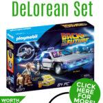 win Playmobil Back to the Future DeLorean set