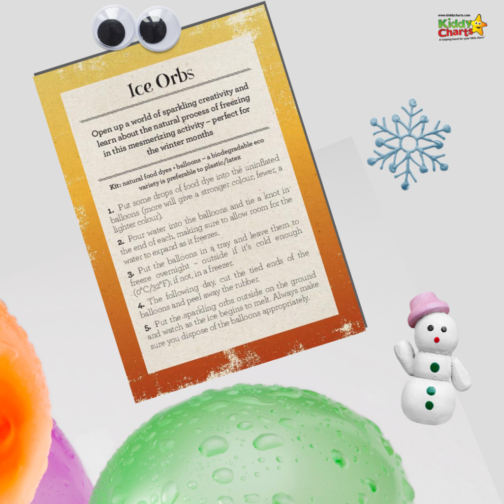 How to make an ice orb