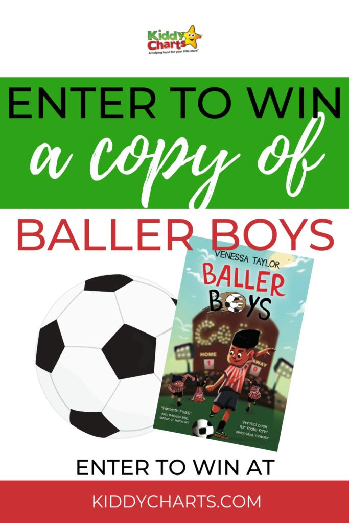 Baller Boys book giveaway