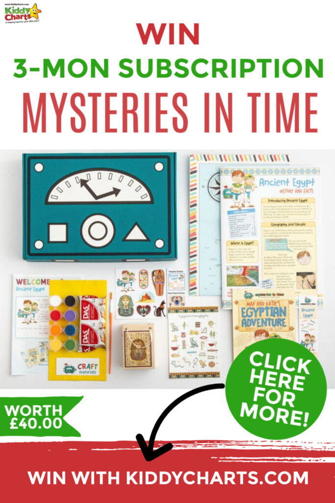 Win a Mysteries in Time history subscription box!