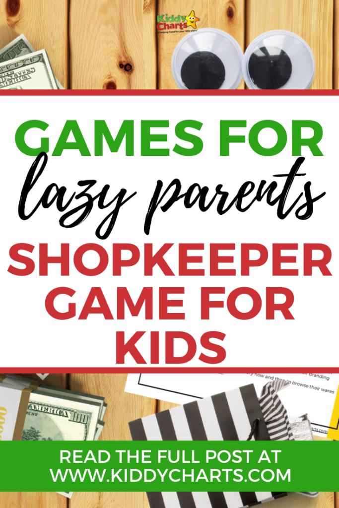 shopkeeper game for kids