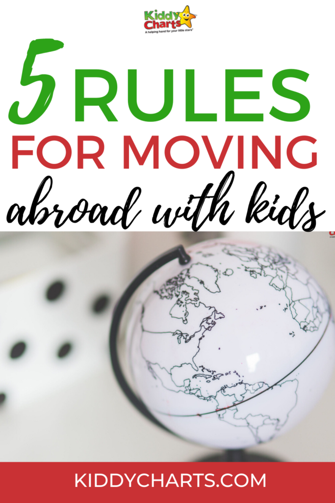 5 Rules for moving abroad with kids
