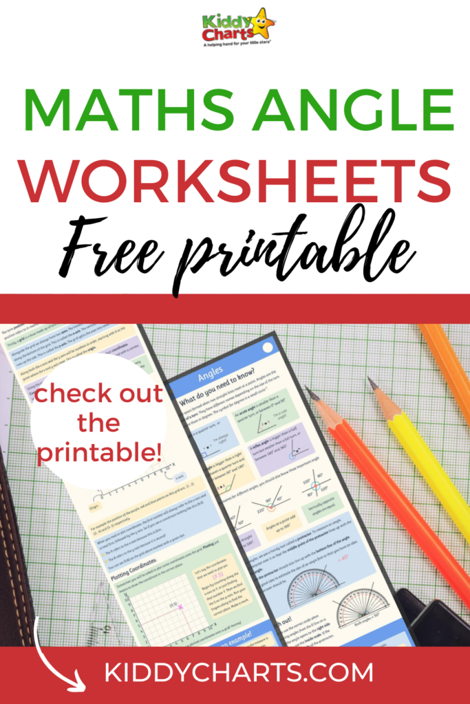 free maths angles worksheets