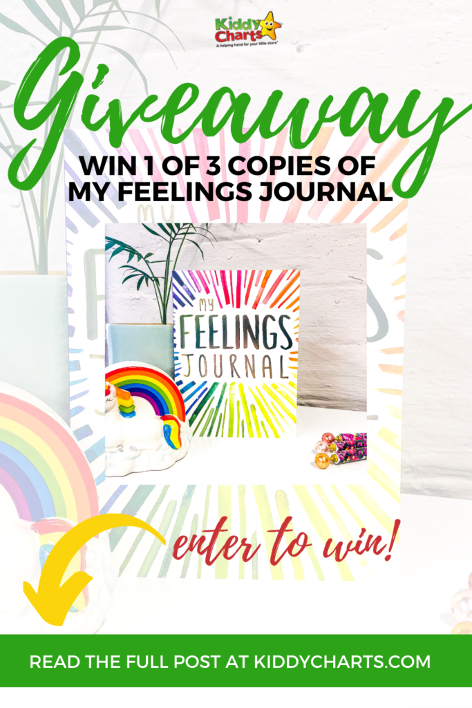 My Feelings Journal giveaway!