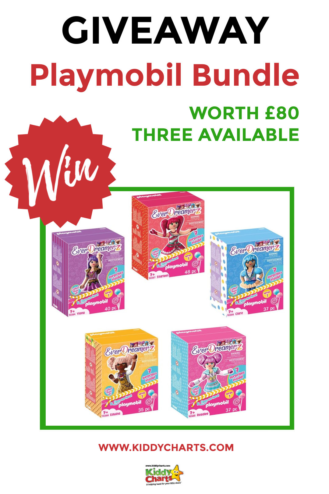 Win £80 Playmobil EverDreamerz bundle: Three to give away!