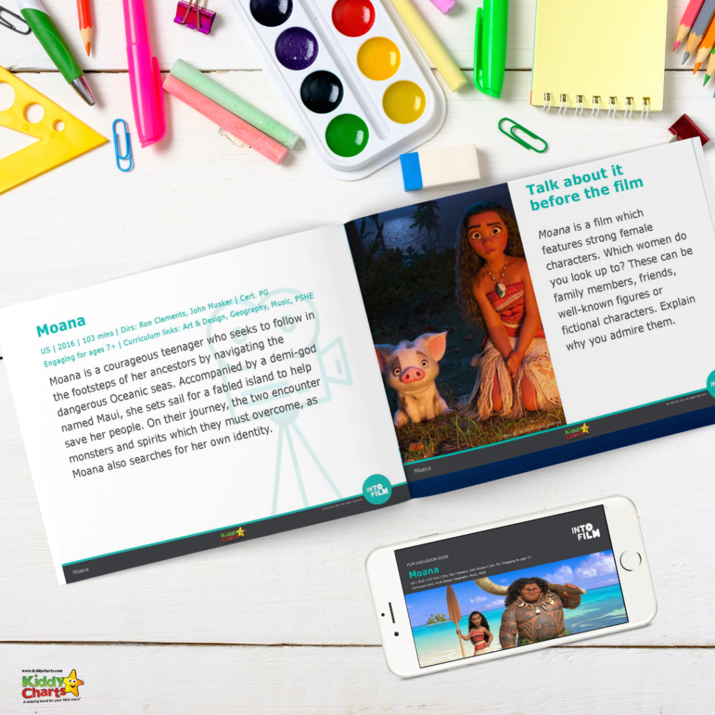 Moana Activity Sheets: How Moana helps kids to learn