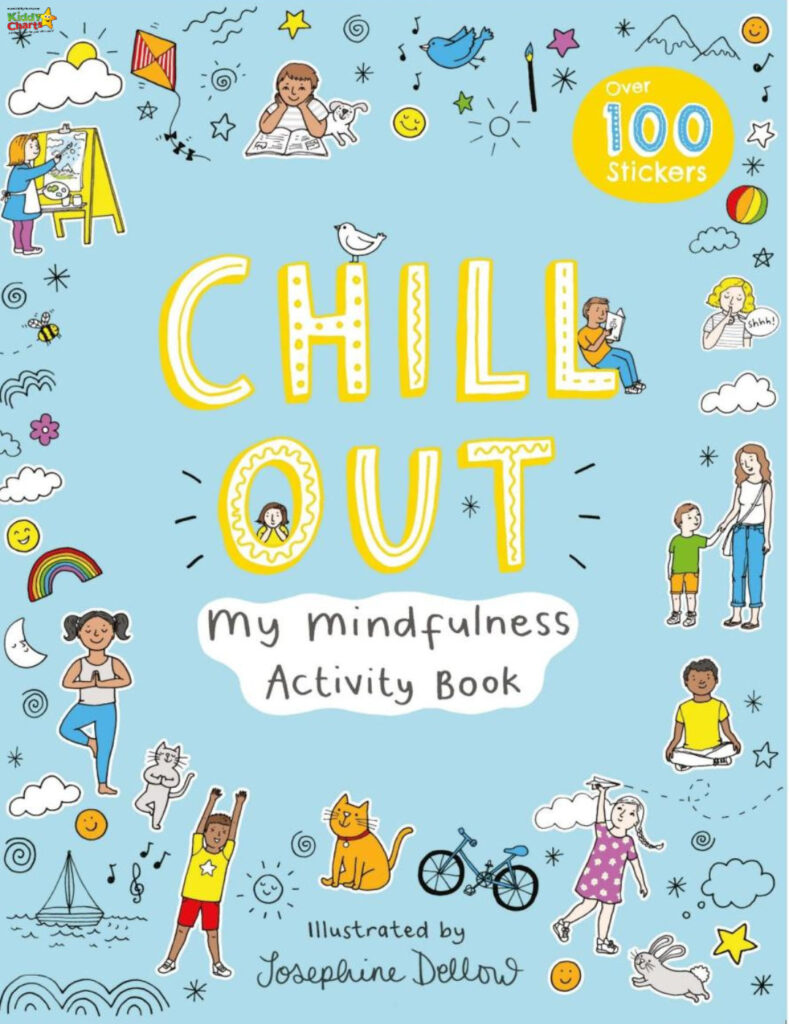Win Chill Out Mindful Activity Book - 3 Copies available!  - KiddyCharts