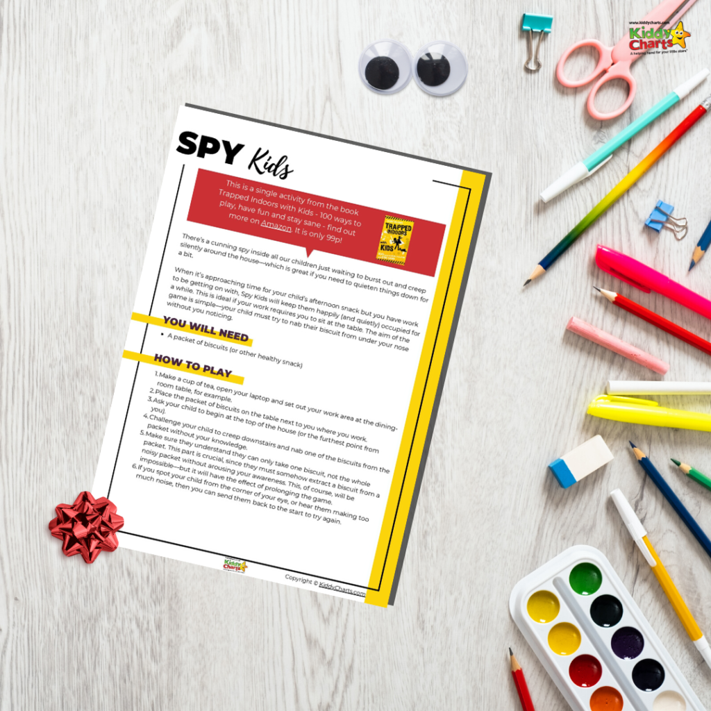 Free spy game for kids