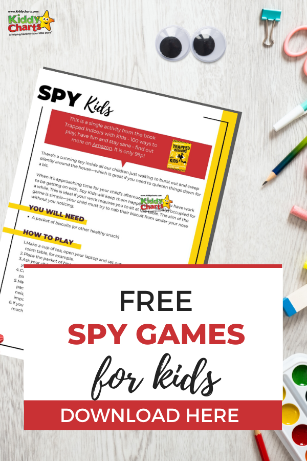 Spy Game for Kids