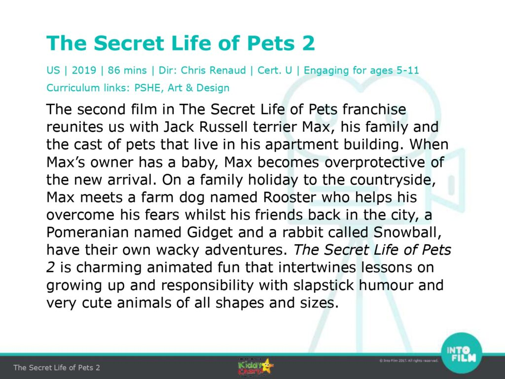 How Secret Life of Pets 2 can teach your kids some valuable lessons