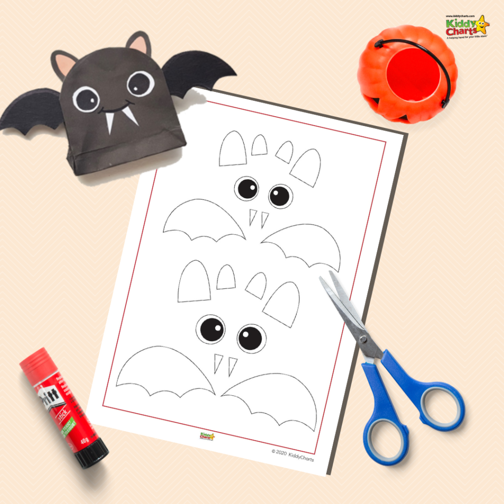 the bat template for the activity