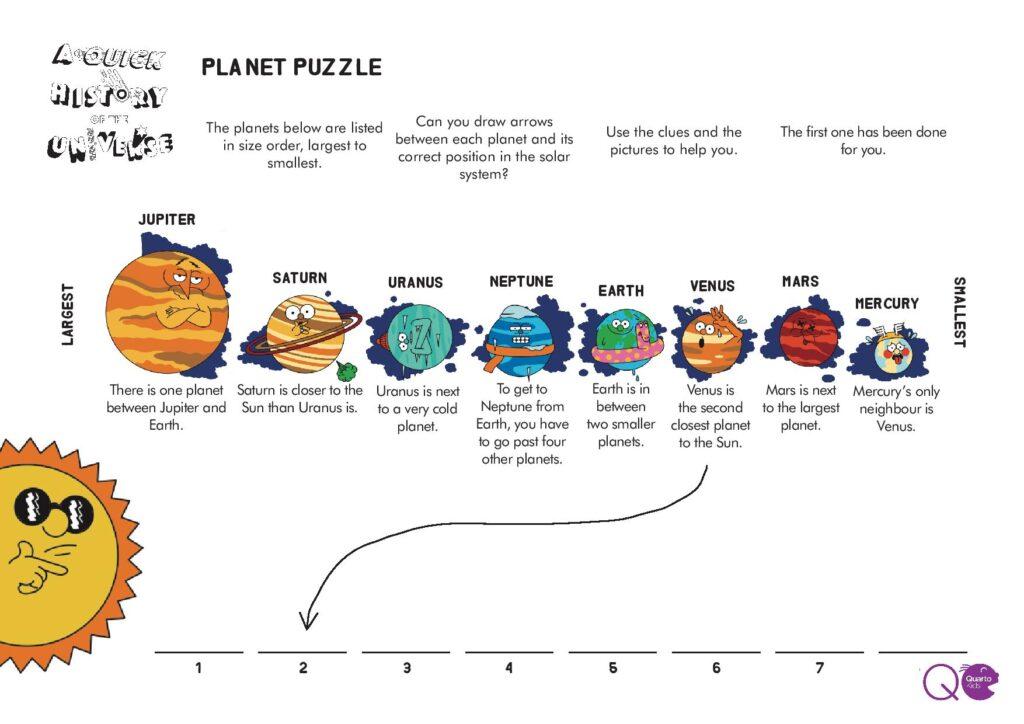 Simple Planets STEM Activity