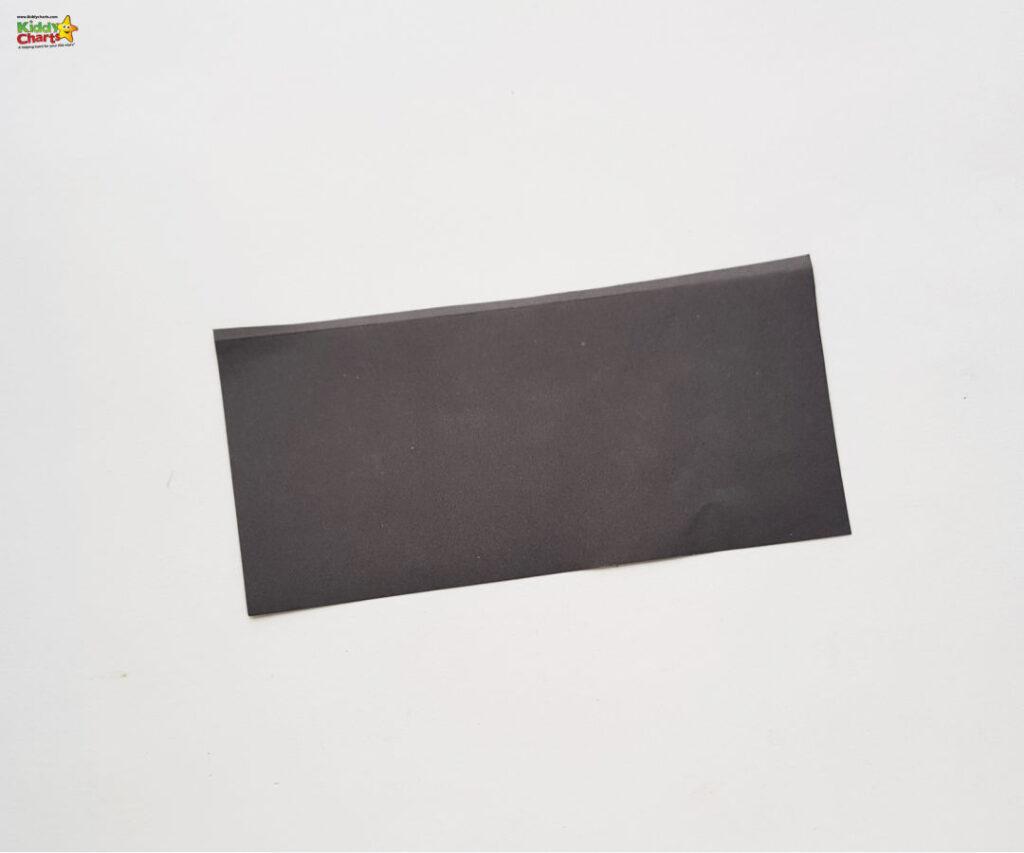black paper for your bat