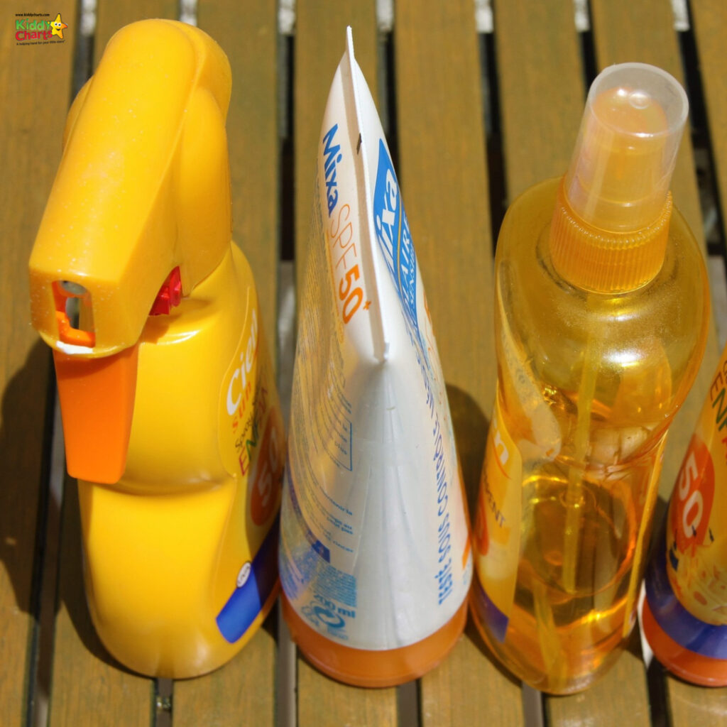 Avoid SPF based makeup products
