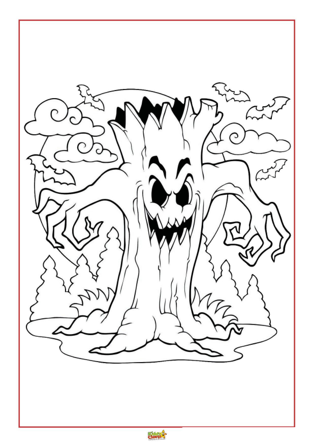 Halloween Colouring