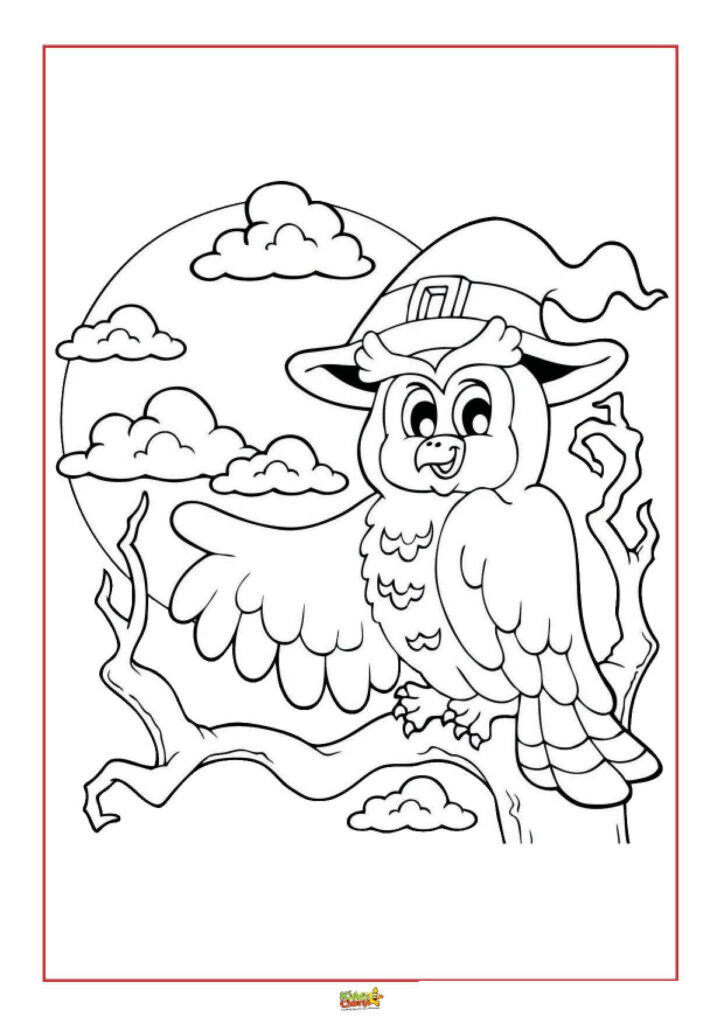 Halloween eBook Colouring Pages
