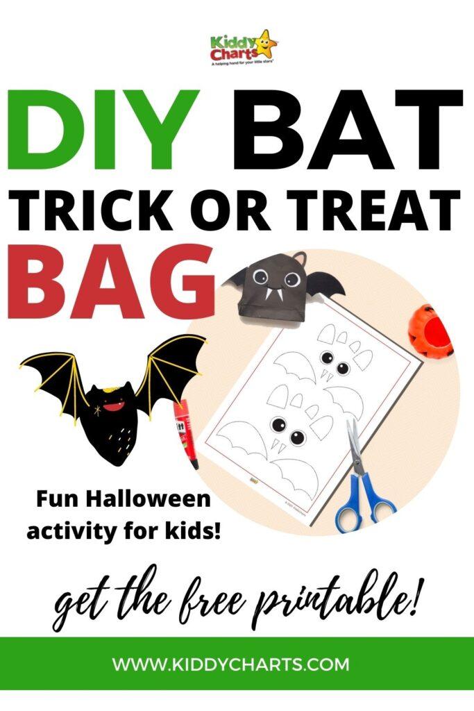 Bat Trick or Treat Bag