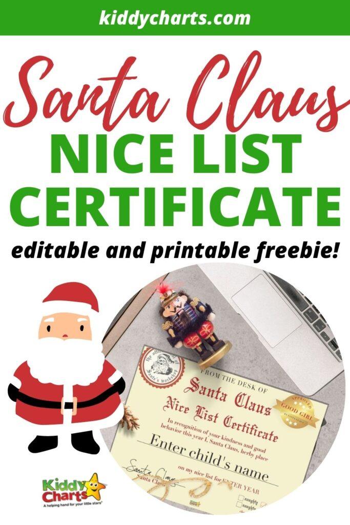 Santa Nice List