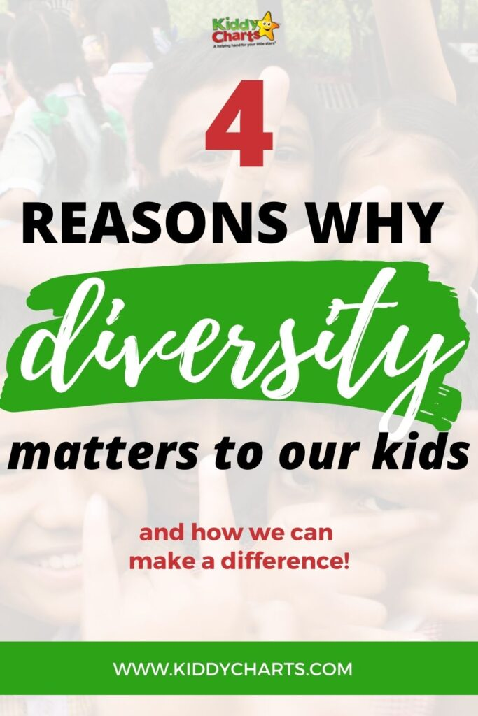 Why diversity matters to our kids today