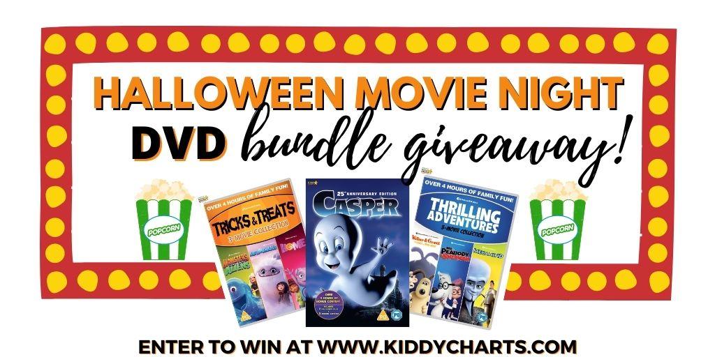 DVD bundle for a Kids Halloween