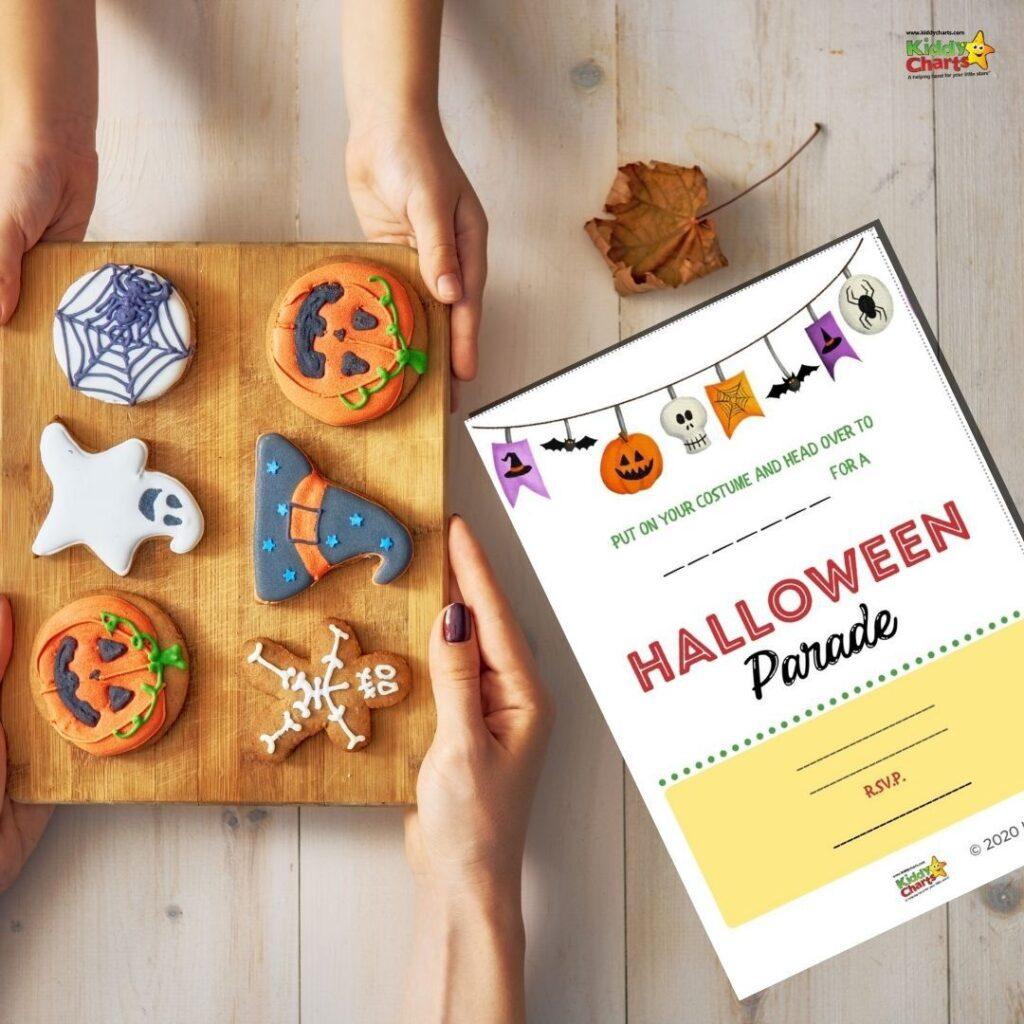 Halloween Parade Invitation