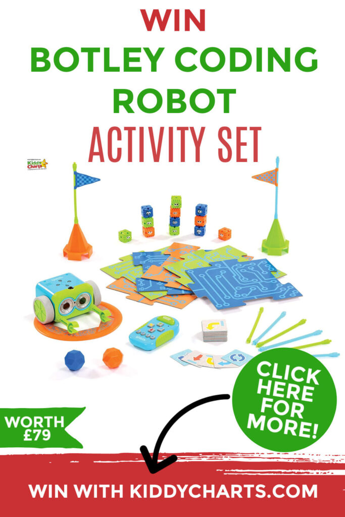 Win a Botley the coding robot activity pack worth