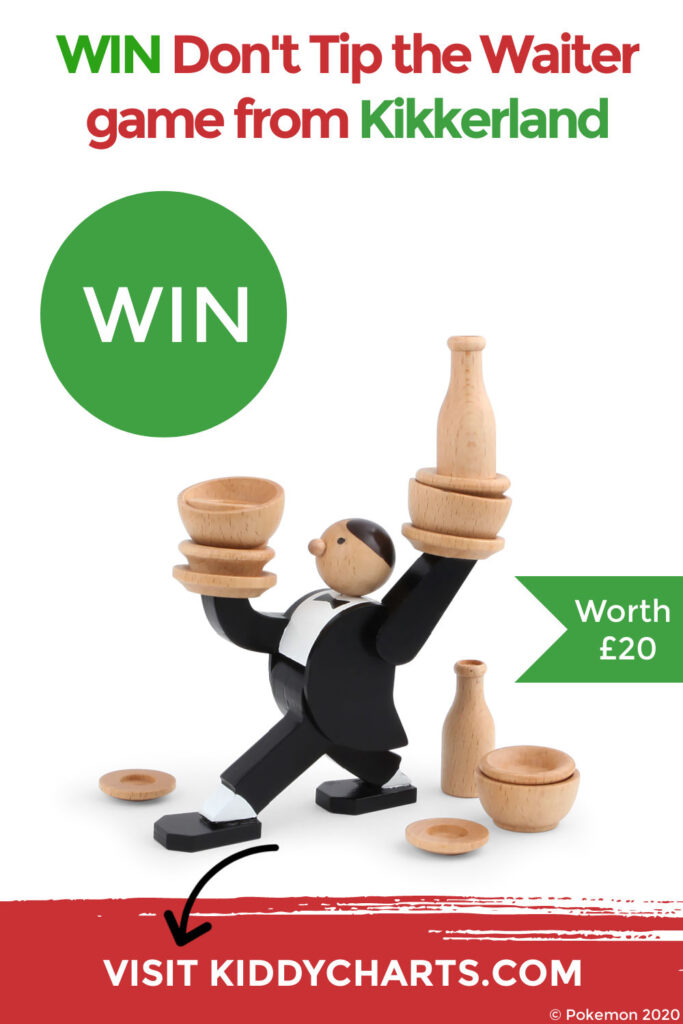 Win Don't Tip the Waiter game from Kikkerland