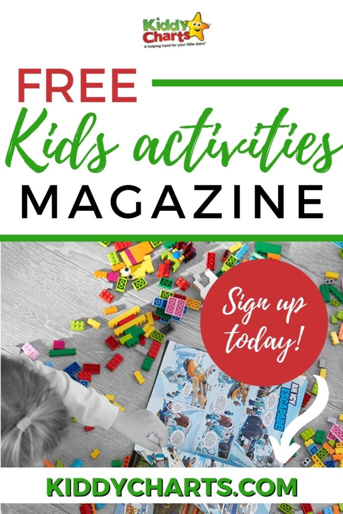 Free kids activities magazine from LEGO
