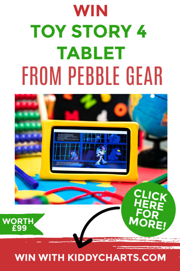Win Toy Story 4 tablet from Pebble Gear