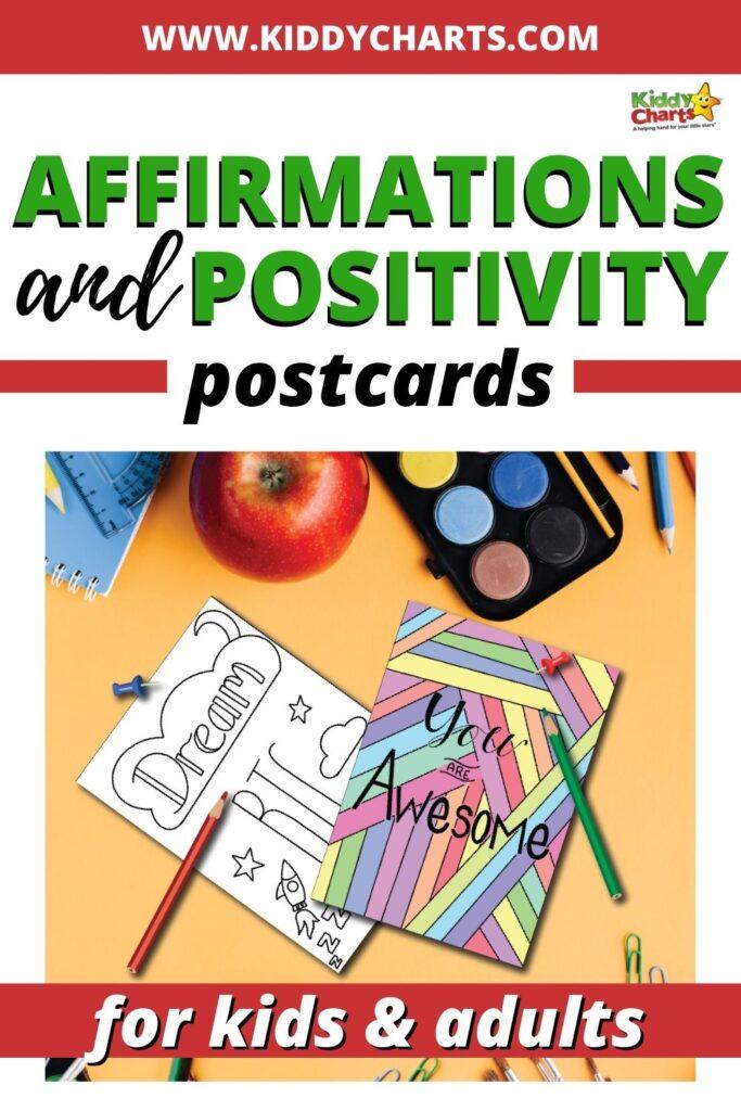 Positivity Postcards
