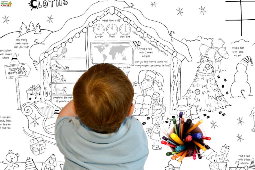 GIANT Colouring Sheets from Clever Cloths